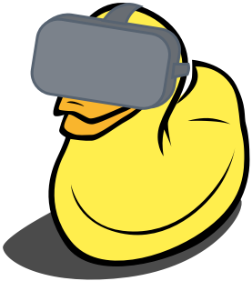 Virtual reality duck